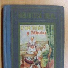 Libros de segunda mano: CUENTOS Y FÁBULAS / L. MÉNDEZ DE CUENCA SAMANIEGO / AÑO??. Lote 95190111
