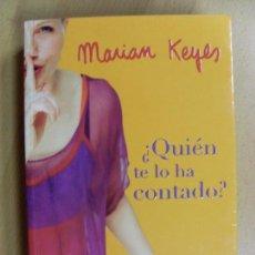 Libros de segunda mano: ¿QUIEN TE LO HA CONTADO? / MARIAN KEYES / 1ª EDICIÓN 2004. Lote 95209503