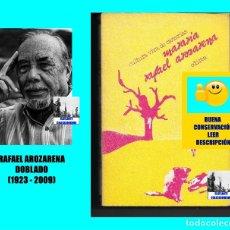 Libros de segunda mano: MARARÍA - RAFAEL AROZARENA DOBLADO - EDIRCA - NARRATIVA CANARIA CONTEMPORÁNEA - BUENA CONSERVACIÓN. Lote 95399668