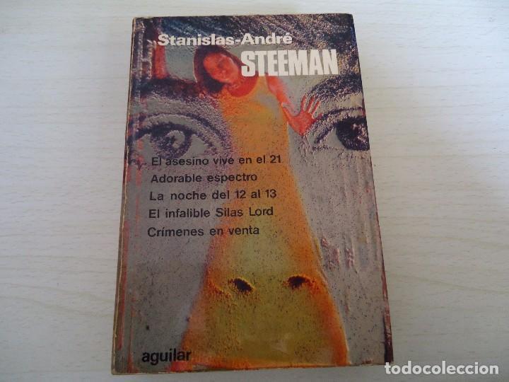 _STANISLAS ANDRE STEEMAN-5 NOVELAS EN UN TOMO (Libros de Segunda Mano (posteriores a 1936) - Literatura - Narrativa - Otros)