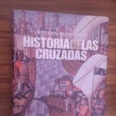 Libros de segunda mano: HISTORIA DE LAS CRUZADAS. STEVEN RUNCIMAN. ALIANZA EDITORIAL. TAPA DURA. FALTA UN TROZO EN BLANCO. Lote 95682999