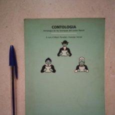 Libros de segunda mano: LIBRO - CONTOLOGIA - LIBROS VARIOS - ANTOLOGIA DE LES TECNIQUES DEL CONTE LITERARI -ALBERT PLANELLES. Lote 95716039
