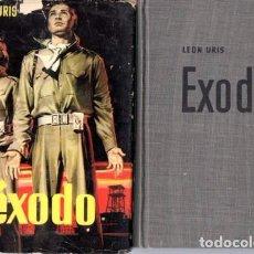 Libros de segunda mano: ÉXODO - LEON URIS - EDITORIAL BRUGUERA 1960. Lote 95831379