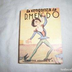 Libros de segunda mano: LA VENGANZA DE DON MENDO.PEDRO MUÑOZ SECA.EDITORIAL AFRODISIO AGUADO 1973. Lote 95835623