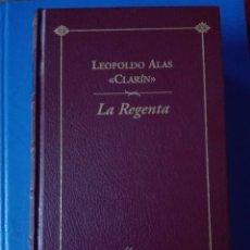Libros de segunda mano: LA REGENTA LEOPOLDO ALAS CLARIN ESPASA CALPE BIBLIOTECA AUSTRAL. Lote 95898199