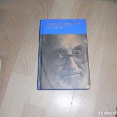 Libros de segunda mano: JOSE LUIS SAMPEDRO, LA ESCRITURA NECESARIA, SIRUELA. Lote 96045343