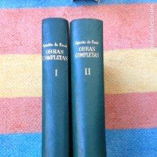 Libros de segunda mano: AGUSTIN DE FOXÁ OBRAS COMPLETAS PRENSA ESPAÑOLA 1963 MADRID. Lote 96047399