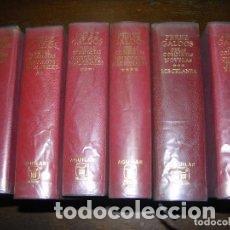 Libros de segunda mano: (F.1) SEIS TOMOS DE BENITO PÉREZ GALDOS 1ª EDICIÓN 1970. Lote 96477911