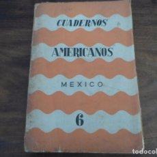 Libros de segunda mano: CUADERNOS AMERICANOS - NO6 1945- PEDRO SALINAS, EMILIO PRADOS Y OTROS. Lote 96773711