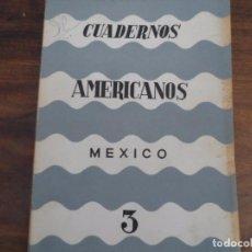 Libros de segunda mano: CUADERNOS AMERICANOS - NO3 1965- MAX AUB Y OTROS. Lote 96774971