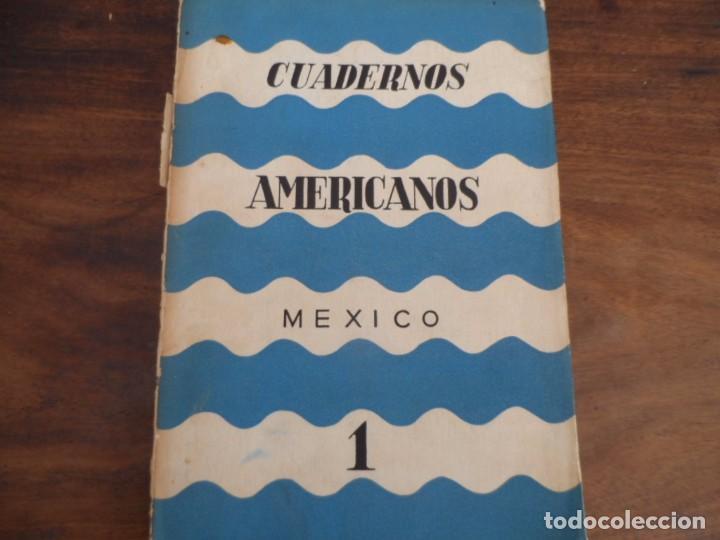 CUADERNOS AMERICANOS - NO1 1942. LEON FELIPE, OTROS (Libros de Segunda Mano (posteriores a 1936) - Literatura - Narrativa - Otros)