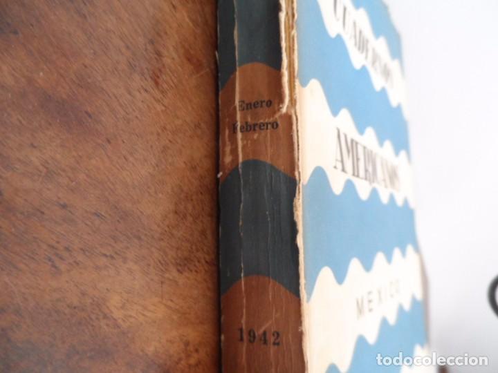 Libros de segunda mano: Cuadernos Americanos - No1 1942. Leon Felipe, otros - Foto 2 - 96775151