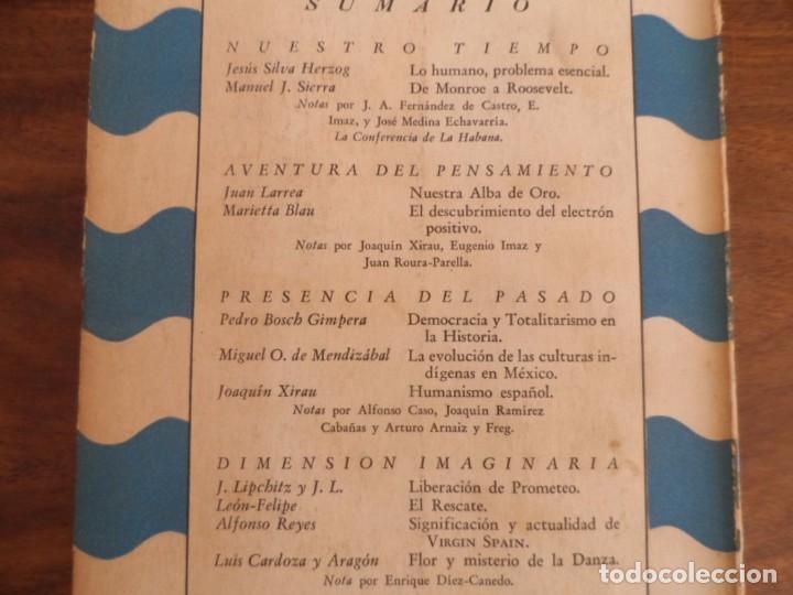 Libros de segunda mano: Cuadernos Americanos - No1 1942. Leon Felipe, otros - Foto 3 - 96775151