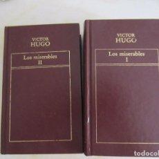 Libros de segunda mano: LOS MISERABLES. VICTOR HUGO, 2 TOMOS EDICIONES ORBIS/ORIGEN 1982. Lote 97421443