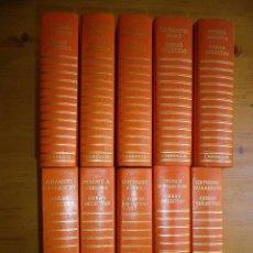 Libros de segunda mano: 10 LIBROS OBRAS SELECTAS EDITORIAL GARROGGIO SEIRE NARANJA. Lote 97590523