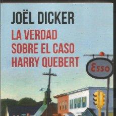 Libros de segunda mano: JOEL DICKER. LA VERDAD SOBRE EL CASO HARRY QUEBERT. DEBOLSILLO. Lote 97882395