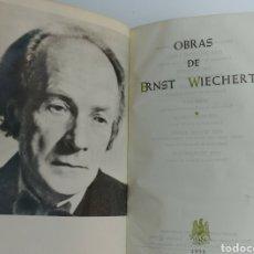 Libri di seconda mano: OBRAS DE ERNST WIECHERT MAESTROS DE HOY 1958. Lote 98438607