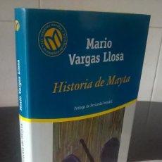 Libros de segunda mano: 12-HISTORIA DE MAYTA, MARIO VARGAS LLOSA, 2001. Lote 98449055