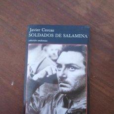 Libros de segunda mano: LIBRO SOLDADOS DE SALAMINA JAVIER CERCAS 2005 ED. TUSQUETS L-15756. Lote 98483763
