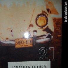 Libros de segunda mano: HUÉRFANOS DE BROOKLYN, JONATHAN LETHEM, ED. DEBOLSILLO. Lote 98487211