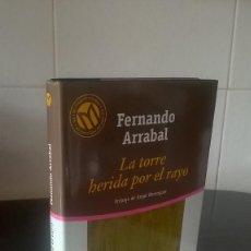 Libros de segunda mano: 3-LA TORRE HERIDA POR EL RAYO, FERNANDO ARRABAL, 2001. Lote 98508743