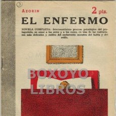 Libros de segunda mano: AZORÍN. EL ENFERMO. NOVELA COMPLETA. Lote 40317364