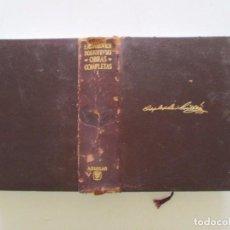 Libros de segunda mano: FIODOR MIJAILOVICH DOSTOYEVSKI. OBRAS COMPLETAS. TOMO I (1844 – 1865). RM83262. . Lote 98603835