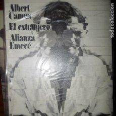 Libros de segunda mano: EL EXTRANJERO, ALBERT CAMUS, ED. ALIANZA EMECÉ. Lote 98638987