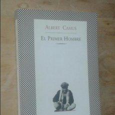 Libros de segunda mano: ALBERT CAMUS - EL PRIMER HOMBRE - TUSQUETS, 1997. Lote 98656699
