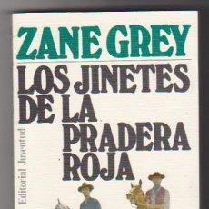 Libros de segunda mano: LOS JINETES DE LA PRADERA ROJA. ZANE GREY. EDITORIAL JUVENTUD.. Lote 98713991