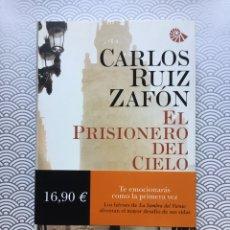 Libros de segunda mano: EL PRISIONERO DEL CIELO - CARLOS RUÍZ ZAFÓN - PLANETA, 2011 - NUEVO DE LIBRERÍA. Lote 98743938
