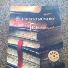Libros de segunda mano: EL CUENTO NUMERO TRECE -- DIANE SETTERFIELD -- DEBOLSILLO 2009 --. Lote 98777895