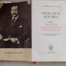 Libros de segunda mano: SHERLOCK HOLMES. SIR ARTHUR CONAN DOYLE. ED. AGUILAR. 1964. Lote 98851563