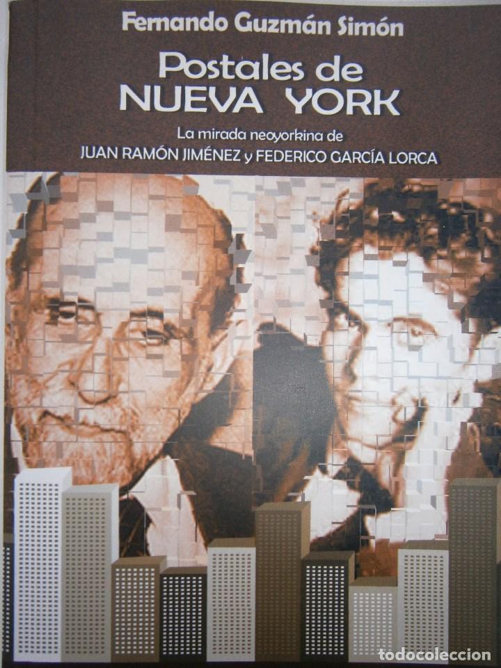 POSTALES DE NUEVA YORK FERNANDO GUZMAN SIMON LA MANZANA POETICA 1 EDICION 2004 (Libros de Segunda Mano (posteriores a 1936) - Literatura - Narrativa - Otros)