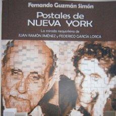 Libros de segunda mano: POSTALES DE NUEVA YORK FERNANDO GUZMAN SIMON LA MANZANA POETICA 1 EDICION 2004. Lote 98877555