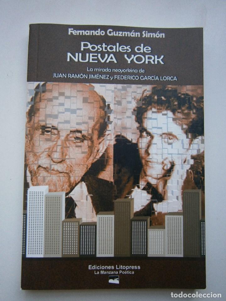 Libros de segunda mano: POSTALES DE NUEVA YORK Fernando Guzman Simon La Manzana Poetica 1 edicion 2004 - Foto 2 - 98877555