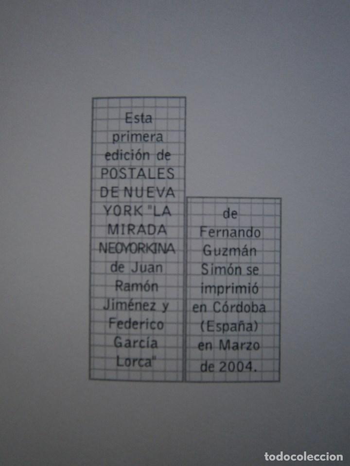 Libros de segunda mano: POSTALES DE NUEVA YORK Fernando Guzman Simon La Manzana Poetica 1 edicion 2004 - Foto 7 - 98877555