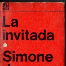 Libros de segunda mano: SIMONE DE BEAUVOIR : LA INVITADA (SUDAMERICANA, 1970). Lote 99027395