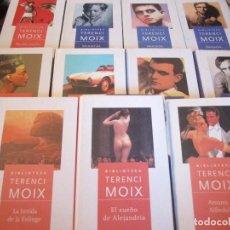 Libros de segunda mano: TERENCI MOIX. LOTE DE 11 LIBROS EN TAPA DURA. PLANETA DEAGOSTINI. 4300 GRAMOS.. Lote 99385279