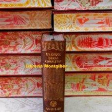 Libros de segunda mano: OBRAS COMPLETAS . AUTOR : GOGOL. Lote 99782143