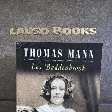 Libros de segunda mano: LOS BUDDENBROOK. THOMAS MANN. POCKET EDHASA. . Lote 100061231
