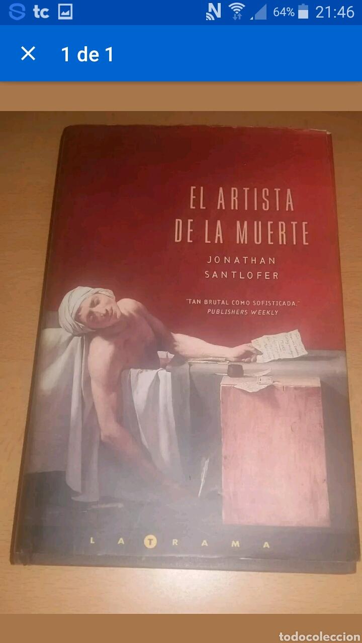 El Artista De La Muerte Jonathan Santlofer Comprar En Todocoleccion 100336184