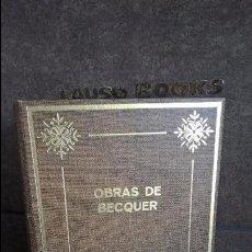 Libros de segunda mano: OBRAS DE BECQUER. PETRONIO 1973. 2 TOMOS. VER FOTOS ESTAN LOS 2 TOMOS.. Lote 100534035