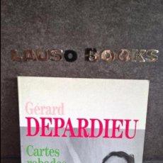 Libros de segunda mano: CARTES ROBADES. GERARD DEPARDIEU. CATALAN ( CATALA). 1ª EDICION LA CAMPANA 1989.. Lote 100727631