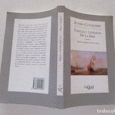 Libros de segunda mano: ÁLVARO CUNQUEIRO. FÁBULAS Y LEYENDAS DE LA MAR. RMT83746. . Lote 101048335