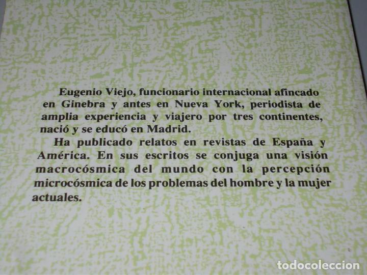 Libros de segunda mano: Amores terminales, Eugenio Viejo. Libertarias, Prodhufi 1ª ed. octubre 1.993 - Foto 2 - 101062907