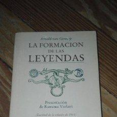 Libros de segunda mano: LA FORMACION DE LAS LEYENDAS ARNOLD VAN GENNEP. Lote 101198723