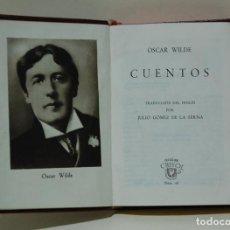 Libros de segunda mano: CUENTOS. OSCAR WILDE. COLECCIÓN CRISOL, NUM. 16. Lote 101797131