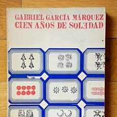 Libros de segunda mano: GABRIEL GARCÍA MÁRQUEZ - CIEN AÑOS DE SOLEDAD - EDHASA - SUDAMERICANA - BARCELONA 1973. Lote 102131699