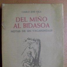 Libros de segunda mano: DEL MIÑO AL BIDASOA / CAMILO JOSÉ CELA / 3ª EDICIÓN 1961. Lote 102914547
